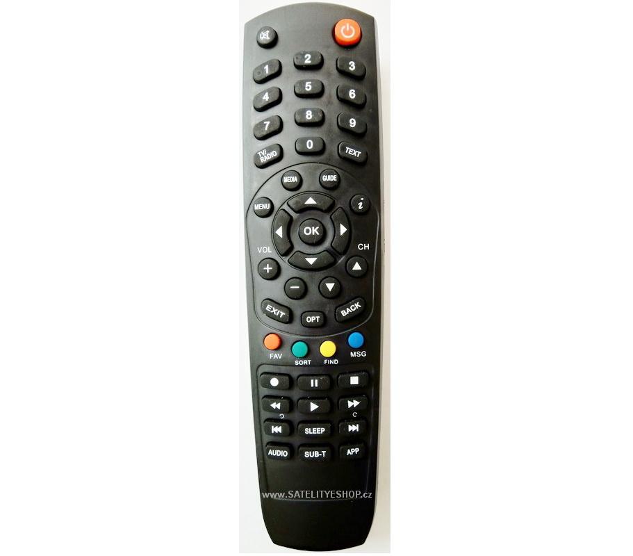 Dálkový ovladač Kaon NA1170 Digi TV náhrada